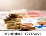 Detail Of Euro Currency On The...