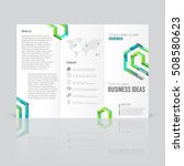 business templates for tri fold ... | Shutterstock .eps vector #508580623