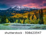 Fall Rushes In To Colorado In...