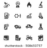 bio fuel web icons for user... | Shutterstock .eps vector #508653757