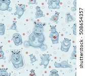 stock vector seamless pattern...   Shutterstock .eps vector #508654357