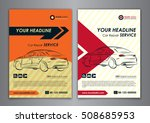 a5  a4 set car repair service... | Shutterstock .eps vector #508685953