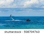 Fly Board And Jet Ski In The...