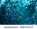glitter sparkling abstract blue ... | Shutterstock . vector #508731517