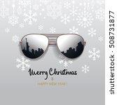 christmas card | Shutterstock .eps vector #508731877