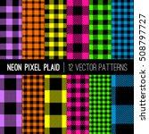 Classic Neon Colors Buffalo...