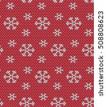 christmas and new year seamless ... | Shutterstock .eps vector #508808623