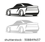 tuning logo  badge or emblems.... | Shutterstock .eps vector #508849657