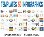 50 vector templates for... | Shutterstock .eps vector #508864003