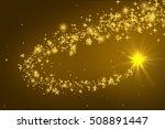 christmas stars  | Shutterstock . vector #508891447