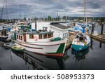 Deep Bay Harbour  Bc  Canada...