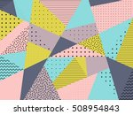 vector triangle background.... | Shutterstock .eps vector #508954843