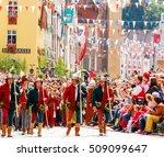 landshut germany june 30 2013... | Shutterstock . vector #509099647