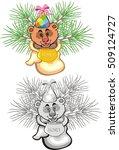 bear cartoon | Shutterstock .eps vector #509124727