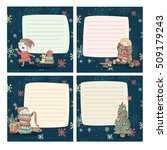 cute christmas reminders for... | Shutterstock .eps vector #509179243