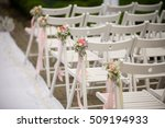 wedding ceremony place sitting. ... | Shutterstock . vector #509194933