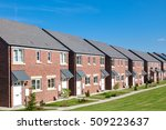 row of new houses  england | Shutterstock . vector #509223637