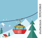 mountain tours conceptual web... | Shutterstock . vector #509243863