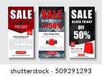 set of vertical web banners for ...   Shutterstock .eps vector #509291293