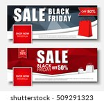 set of web banners  covers  for ... | Shutterstock .eps vector #509291323