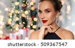 Christmas  People  Luxury And...