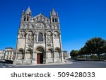 romanesque cathedral of... | Shutterstock . vector #509428033