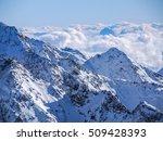 high alps in stubai   tirol... | Shutterstock . vector #509428393