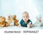 beautiful portrait of... | Shutterstock . vector #509464627