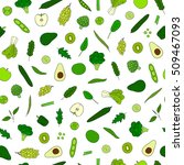 seamless pattern with hand... | Shutterstock .eps vector #509467093