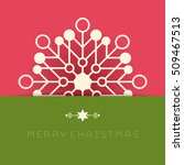 business greeting christmas... | Shutterstock .eps vector #509467513