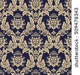 floral pattern. wallpaper... | Shutterstock . vector #509478343