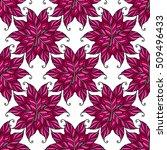 Pink Boho Seamless Pattern....