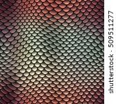 Seamless Scales Pattern Texture