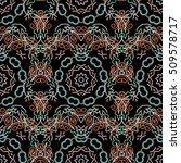 damask seamless floral pattern... | Shutterstock .eps vector #509578717
