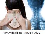 physical therapist checks a...   Shutterstock . vector #509646433