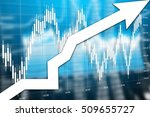 graph the growth of financial...   Shutterstock . vector #509655727