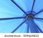 Blue Umbrella In Daytime