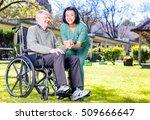 asian nurse happy with...   Shutterstock . vector #509666647