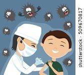 vector illustration. doctor...   Shutterstock .eps vector #509670817