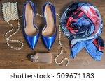 women's fashion accessories ... | Shutterstock . vector #509671183