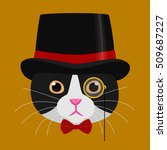 cat with tophat