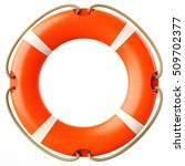 Red Lifebuoy Ring Front...
