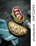 Vegetarian  Beetroot  Avocado ...