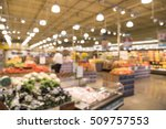 blur abstract of organic fresh... | Shutterstock . vector #509757553