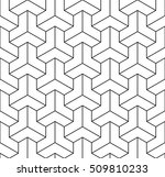 abstract geometric illusion...   Shutterstock .eps vector #509810233