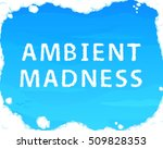 "cloud ""ambient madness"" on blue ... 