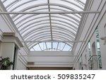 inside view of the white art... | Shutterstock . vector #509835247