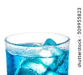 close up tropical blue... | Shutterstock . vector #509955823