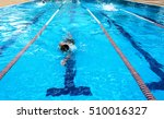 swimmers on competition  | Shutterstock . vector #510016327