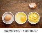 scrambled egg abstract   white... | Shutterstock . vector #510048067